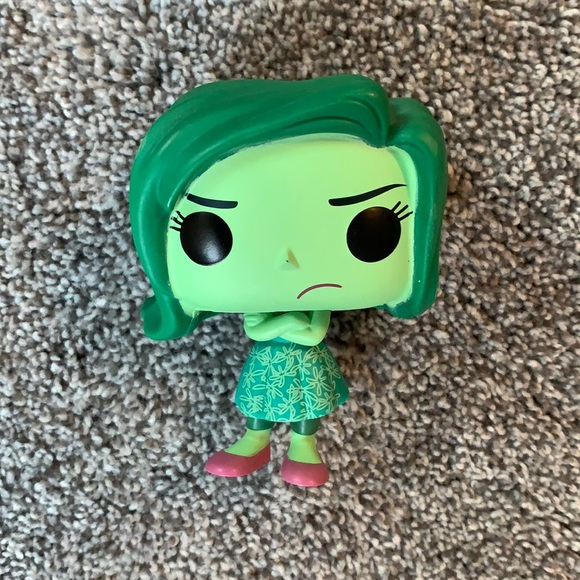 Disgust Funko Pop Out of Box